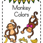 Kindergarten Reader Color Words - Monkey Unit