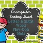Kindergarten Reading Street Play-doh Word Mats