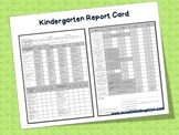 Kindergarten Report Card-Freebie