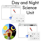 Kindergarten Science Unit for Day and Night