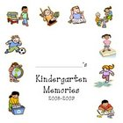 Kindergarten Scrapbook Memories Cover