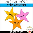 Kindergarten Sight Word Pointers template