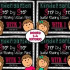 Kindergarten Step by Step Guided Reading Plans: Weeks 1-4