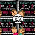 Kindergarten Step by Step Guided Reading Plans: Weeks 13-1