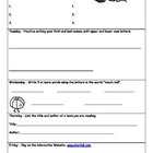Kindergarten Summer Prep Packet