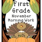 November Morning Work Preview