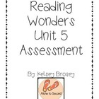 Kindergarten Wonders Reading Unit 5 Assessment