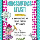 Kindergartner at Last! {A Back-to-School Unit}