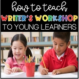 Kindergartners Can Be Authors Too! How to Teach Writer's W