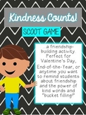 Kindness Counts Scoot Game, End of the Year Writing to Pro