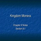 Kingdom Monera PowerPoint