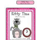 Kityy Time! - Time to the hour - File Folder Game