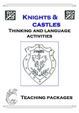 Knights and Castles Thinking and Language Activities