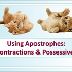 LANGUAGE: Apostrophes in Possessive Nouns & Contractions, Gr. 4-6