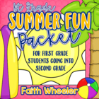 Language Arts & Math - Summer Fun Packet (1st Grade)