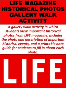 LIFE Magazine Historical Photos Gallery Walk