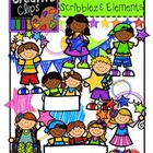 LIMITED EDITION! Bright KIDS, Scribble Elements {Creative