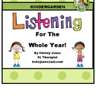 LISTENING FOR THE WHOLE YEAR-  Theme Based Following Direc