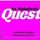 LOUISIANA Alphabetic Test