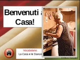 La Casa Italiana - The House Italian Vocabulary