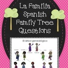 La Familia Spanish Family Tree Questions Worksheet