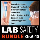 Lab Safety - LESSON BUNDLE {Editable}