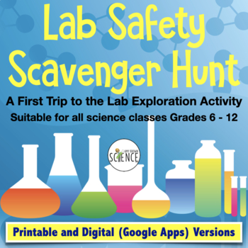 Lab Safety Scavenger Hunt: Safety Activity for First Visit