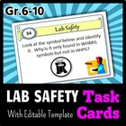 Lab Safety - Task Cards