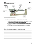 Lab - Using the Triple Beam Balance (6 - 10)