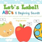 Label It! ABC & Beginning Sounds