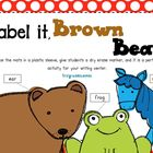 Label It, Brown Bear!