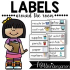 Labels Around the Room