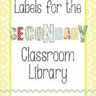 Labels and Signs for the Secondary Classroom Library