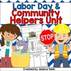 Labor Day & Community Helpers Activity Pack