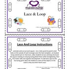 Lace and Loop Mini Flash Cards