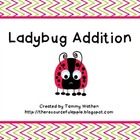 Ladybug Addition Mats