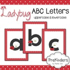 Ladybug Letters for Posters & Displays