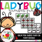Ladybug Numerals, Number Words, & Tally Mark