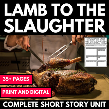 Lamb to the Slaughter - Questions, Activities, Handouts, Project