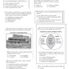 Land Bridge and Ancient Civilizations Test & Review Sheet