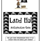 Land Ho! Multiplication Facts 1-10 Game