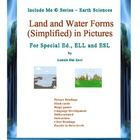 Land and Water Forms in Pictures for Special Ed., ELL and