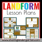 Landform Lesson Plans Plus