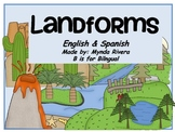 Landforms (English & Spanish)