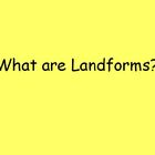 Landforms Powerpoint  FREE