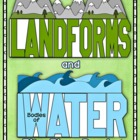 Landforms and Bodies of Water Flip Flap Books