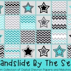 FREE Chevron paper and star graphics {TPT Sellers} Commerc