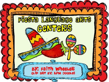 Language Arts - Cinco de Mayo Fiesta Centers