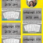 Language Arts Daily Dose Bundle #1 {Weeks 1-16}