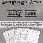 Language Arts Daily Dose Grade 6 {Weeks 13-16}